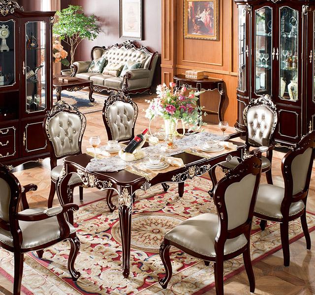 新古典餐桌8913