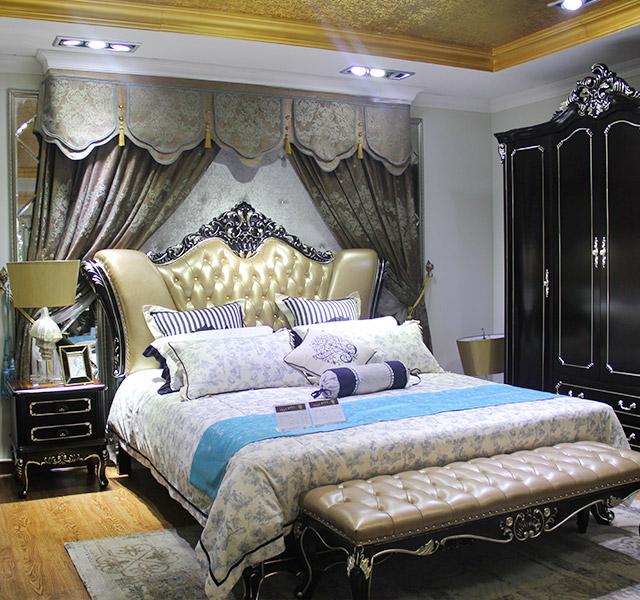 新古典床1652