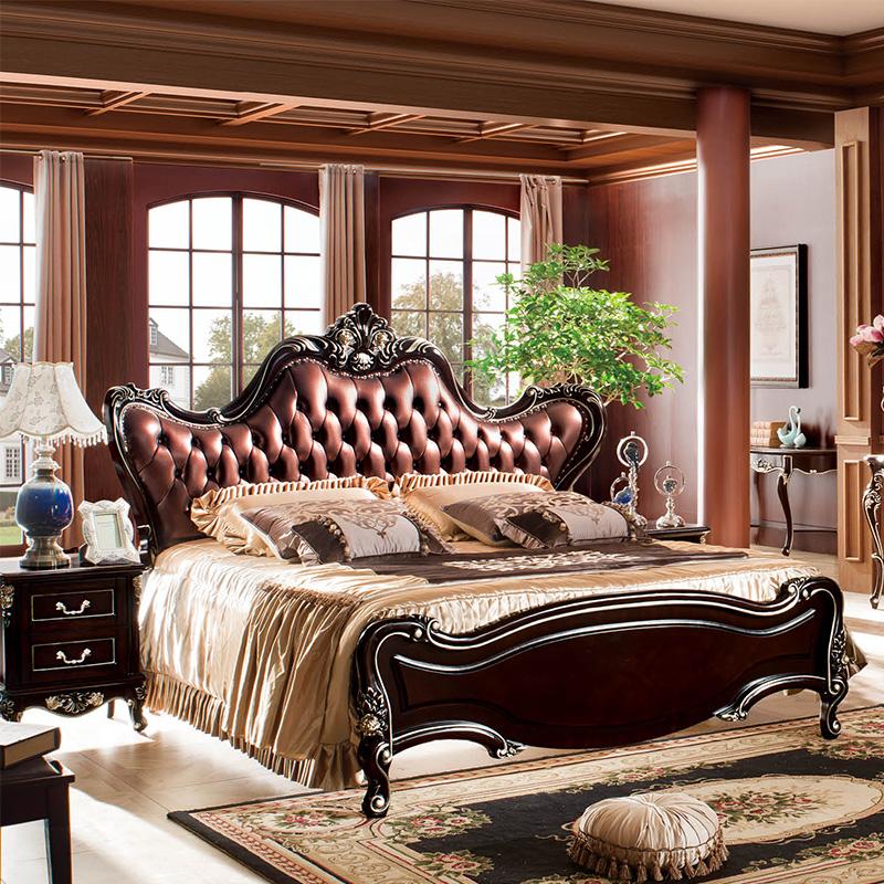 欧式家具床1616