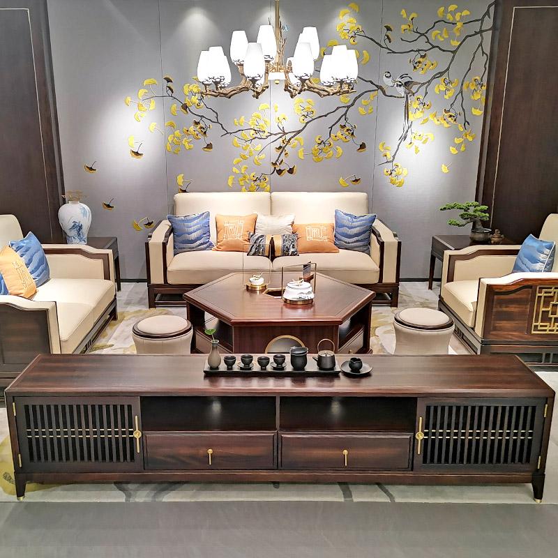 新中式家具TM9908沙发
